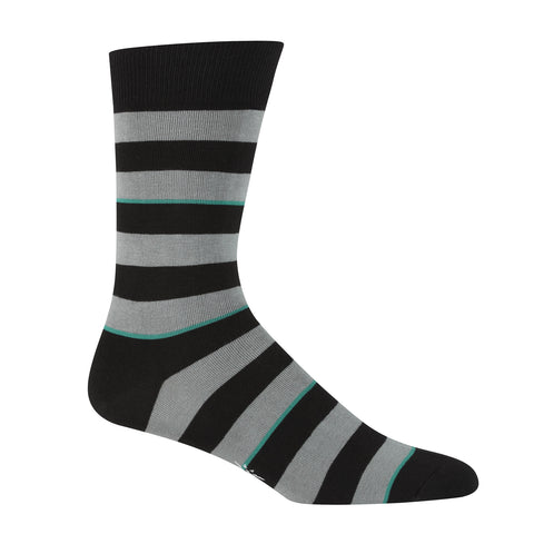 Sock It To Me Men's Crew Socks - Simple Stripe
