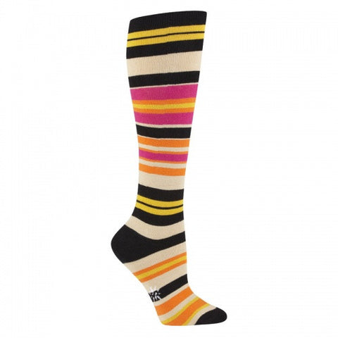 Sock It To Me Sunset Women's Striped Knee Socks