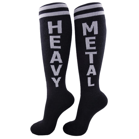 Gumball Poodle Unisex Knee High Socks - Heavy Metal