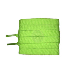 Mr Lacy Flatties - Apple Green Shoelaces