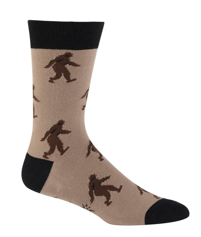Sock It To Me Men's Crew Socks - Sasquatch