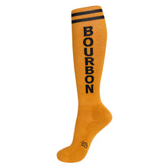 Gumball Poodle Unisex Knee High Socks - Bourbon