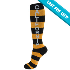 Gumball Poodle Unisex Knee High Socks - California