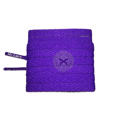 Mr Lacy Skinnies - Violet Shoelaces