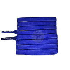 Mr Lacy Flexies - Royal Blue Flexible Shoelaces - 110cm Length