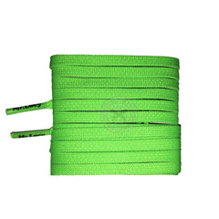 Mr Lacy Goalies - Neon Green Football Shoelaces