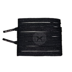 Mr Lacy Goalies - Black Football Shoelaces