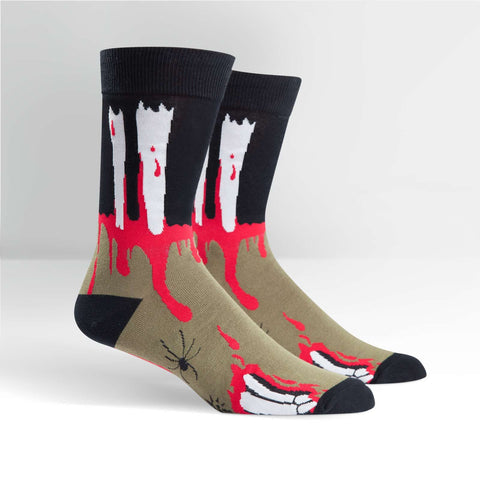 Sock It To Me Men's Crew Socks - Socking Dead