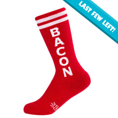 Gumball Poodle Unisex KIDS Knee High Socks - Bacon