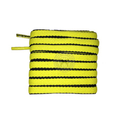 Mr Lacy Slimmies - Yellow & Black Shoelaces