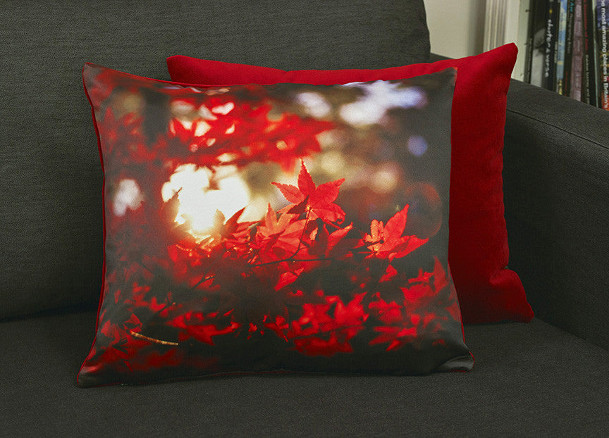 'Autumnal Blaze' cushion
