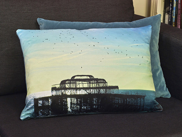 The Birds Did It Cushion