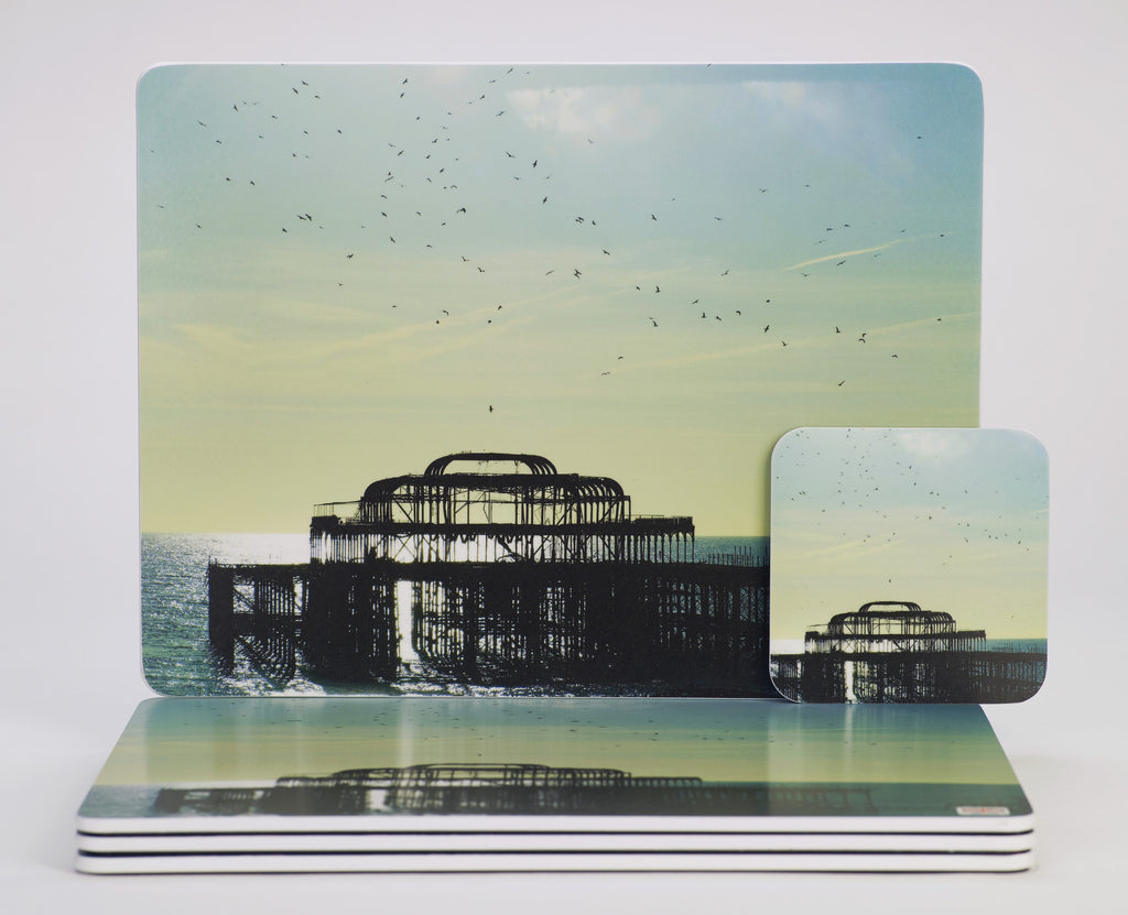 'The Birds Did It!' placemats & coasters