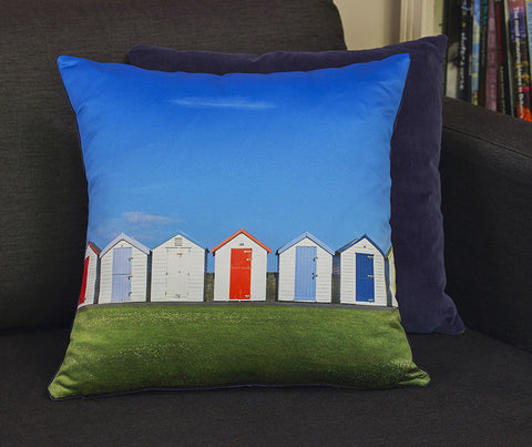 Dandy Beach Huts Cushion