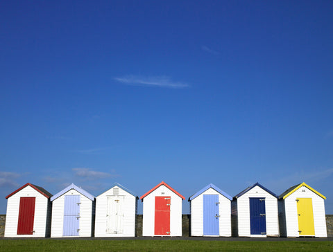 Dandy Beach Huts Print