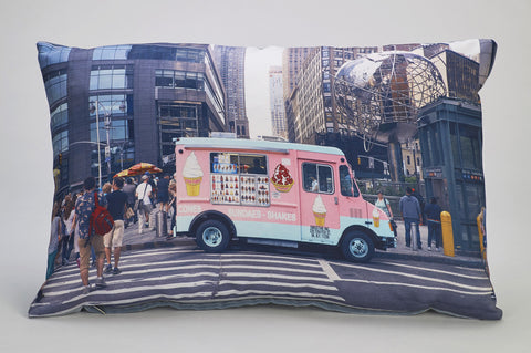 'Ice Cream Central' cushion