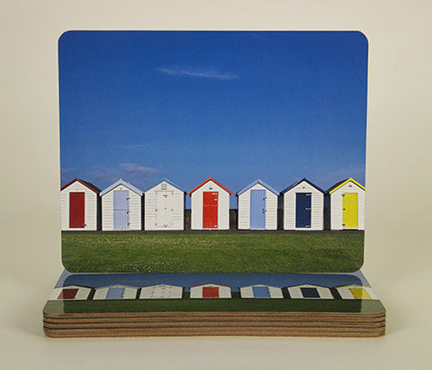 Dandy Beach Huts Coasters and Placemats