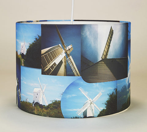 Windmills on My Mind Lampshade