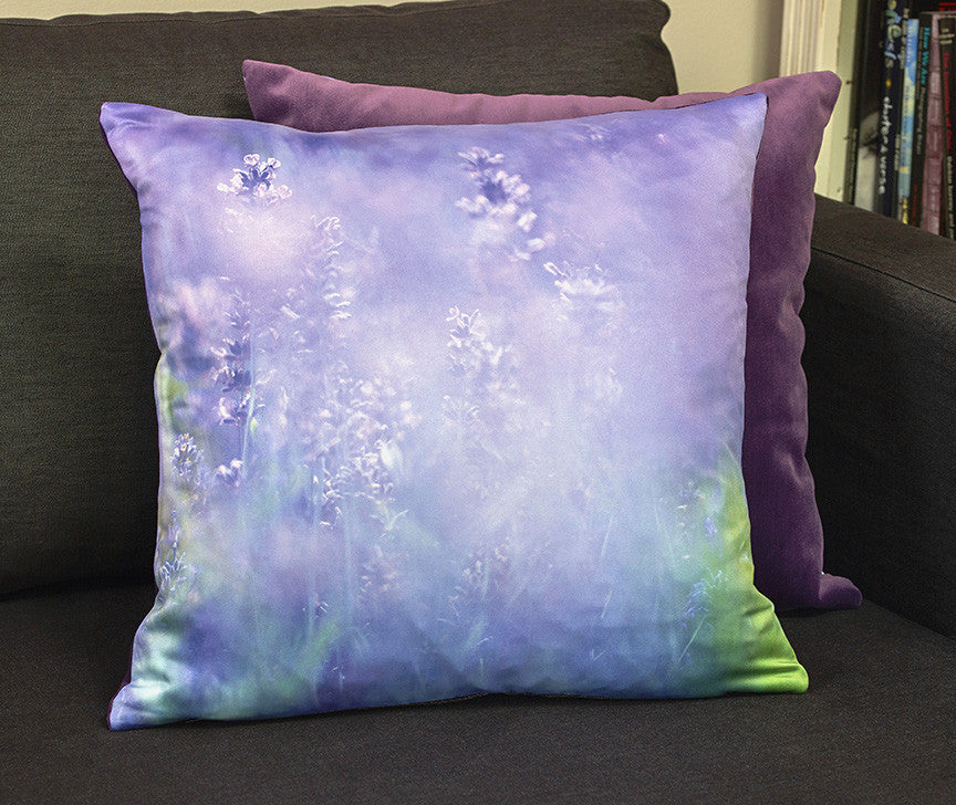 'Lavender Spray' cushion
