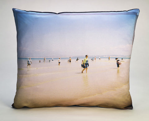 'Picture Postcard' cushion