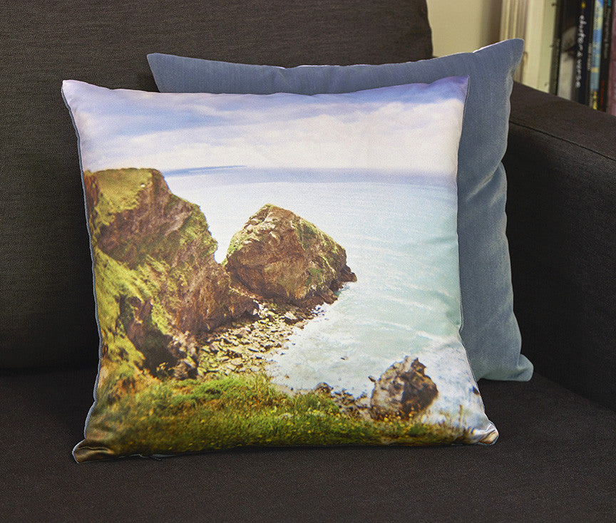 'Rock Face' cushion