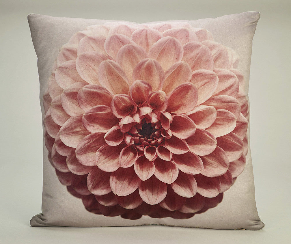 'Retro Dahlia Pop' cushion