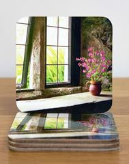 Window Still Coasters & Placemats