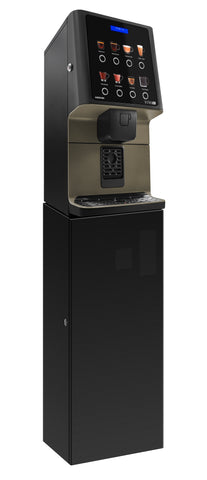 Coffetek Vitro Bean To Cup coffee Machine on a base cabinet