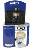 Franke Foamaster Bean To Cup Machine With A Lavazza Coffee Bean Branded Cabinent