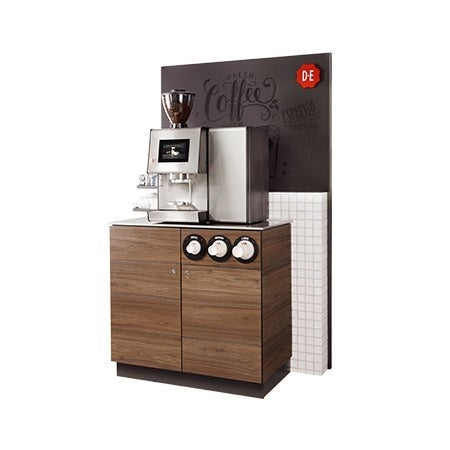 Douwe Egberts Barista One Bean To Cup Machine Tower and Drinks Station