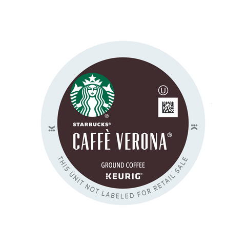 Keurig Starbucks Cafe Verona Coffee K Cups