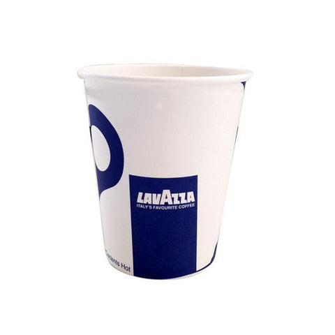 12oz lavazza branded Benders single wall disposable paper cup
