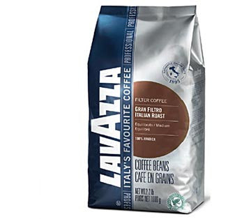 Lavazza Gran Filtro Beans ( 8 x 8oz) for Bean to Cup