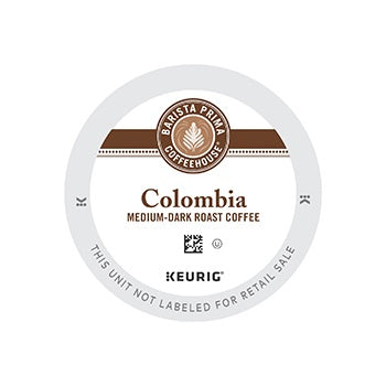 Keurig Barista Prima Colombia K Cups Keurig Coffee Machines