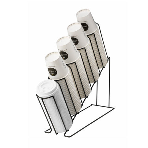 Keurig 5 Column disposable paper cup wire rack
