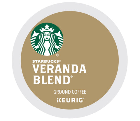 Starbucks Blonde Veranda Blend Coffee Keurig K Cups