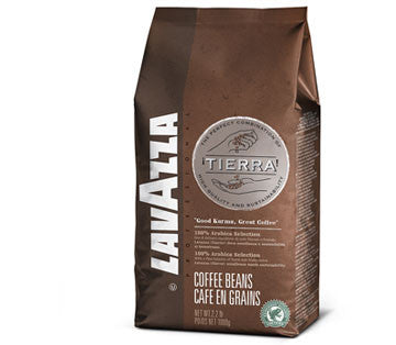 Lavazza Coffee Tierra RFA Bean (6x1kg)