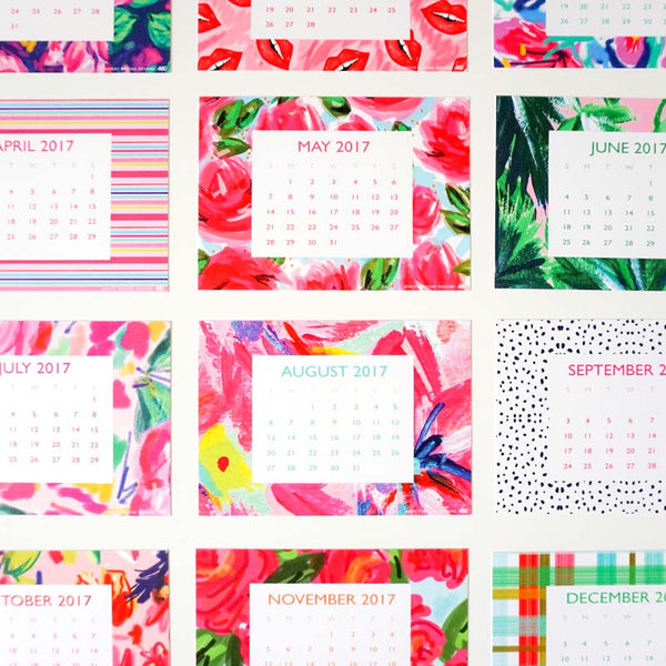 2017 Limited Edition Desk Calendar-Desk Calendar-Ashley Brooke Designs