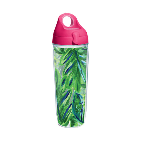 Palm Leaf Tervis Water Bottle-Drinkware-Ashley Brooke Designs