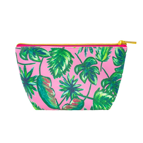 Palm Springs Cosmetic Bag-Cosmetic Zip Pouch-Ashley Brooke Designs