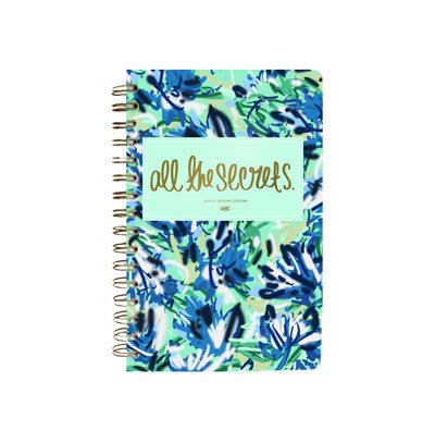 All the Secrets Notebook-Notebooks-Ashley Brooke Designs