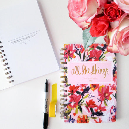 All the Things Notebook-Notebooks-Ashley Brooke Designs