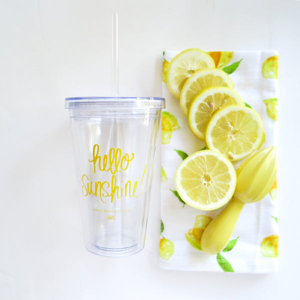 Hello Sunshine Tumbler