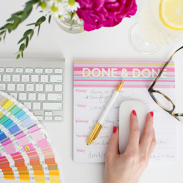 Done & Done Notepad-Notepads-Ashley Brooke Designs