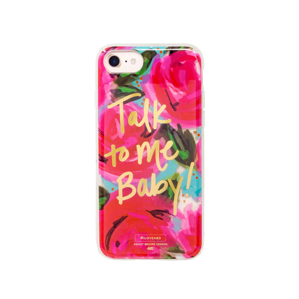 Talk to Me Baby iPhone Case-Phone Case-Ashley Brooke Designs
