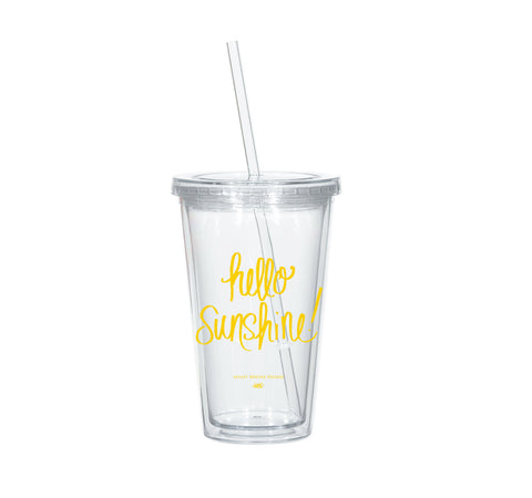 Hello Sunshine Tumbler-Tumblers-Ashley Brooke Designs