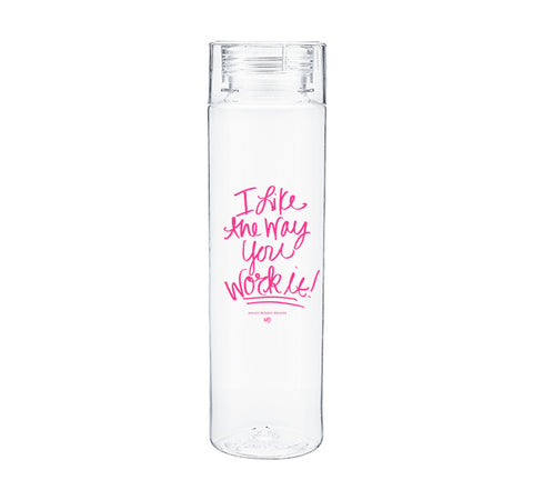 Work It Water Bottle-Water Bottles-Ashley Brooke Designs