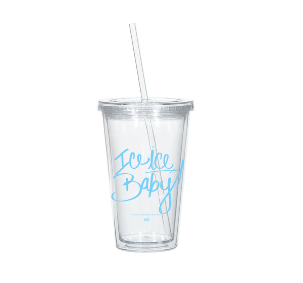 Ice Ice Baby Tumbler-Tumblers-Ashley Brooke Designs