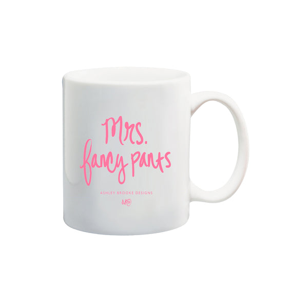Mrs. Fancypants Coffee Mug-Mugs-Ashley Brooke Designs