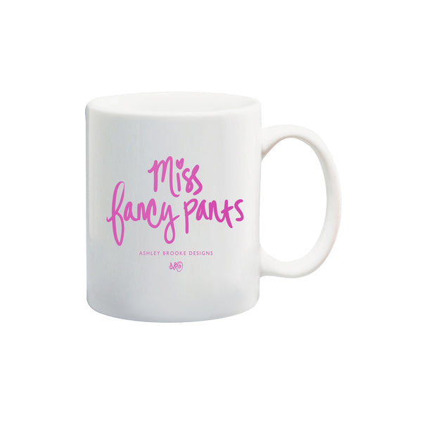 Miss Fancypants Coffee Mug-Mugs-Ashley Brooke Designs